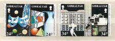 Gibraltar 1993 , EUROPA CEPT - Zeitgenössische Kunst - gestempelt / used / (o)