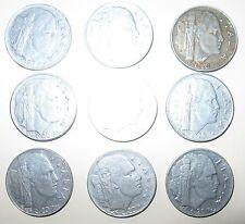 Fantastico lotto regno d'Italia - 9 monete anni '40-  n. 1112