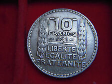 1931 TEN FRANC COIN FROM FRANCE FROM MY COLLECTION