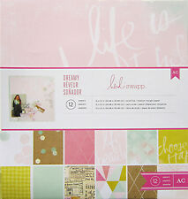 Heidi Swapp (DREAMY) 12x12 COLLECTION KIT - 12 Double-Sided Sheets - Save 60%