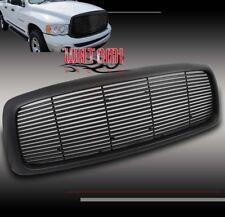 02-05 DODGE RAM 1500/03+ 2500 3500 FRONT UPPER HOOD SPORT GRILLE GRILL ABS BLACK