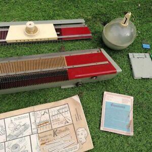 Knitmaster Knitting Machine Super Plus & Ribmaster Accessories.