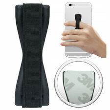 Anti-Rutsch Finger Griff Handy Halter Halterung 3M Grip Samsung iPhone Schwarz