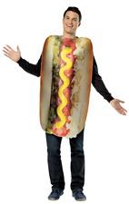 Adult Loaded Hot Dog Food Novelty Funny Fancy Dress Costume