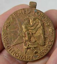 WWII Armed US Armed Forces Expeditionary Service National Defense Medal