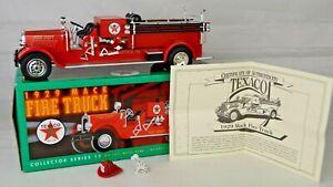 "Ertl #F415 ""Port Arthur TX"" 1929 Mack Fire Truck Bank 9"" Long Diecast Mint W/Box"
