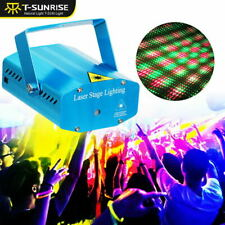 RGB Mini Party DJ Projector Stage Lighting Effect LED Laser Disco Club Light