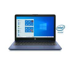 "New listing Hp Stream 11.6""Celeron, Laptop 4Gb Ram, 64Gb, Windows 10 S Mode Royal Blue/ New"