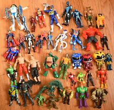 Mixed Action Figure Lot Transformers Batman TMNT Pokemon Spiderman Power Rangers