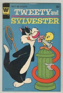 Tweety and Sylvester #24 VG/FN 1972 Whitman variant