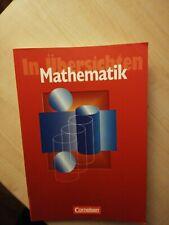 Mathematik in Übersichten: Für die Sekundarstufe I von W... | Buch | Zustand gut