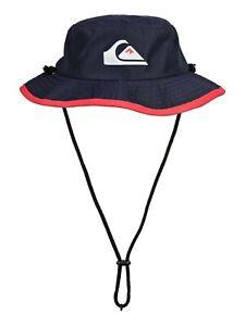 BNWT QUIKSILVER KIDS BOYS FLIPSTER BOY BUCKET HAT (53cm) LAST ONES