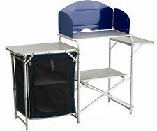 Mobiletto Portafornello per Campeggio più venduto in Europa. Kitchen Alluminio