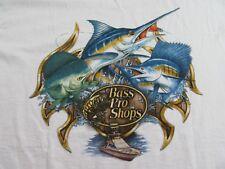 BASS PRO SHOPS Myrtle Beach South Carolina Fishing SS White T Shirt Size XL