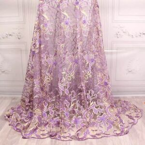2018 Good Quality New Design French Net Lace Fabric For Party Dress nigerian