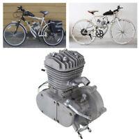 80cc 2Stroke Motorized Bike Bicycle Engine Petrol Gas Motor DIY Silver Body