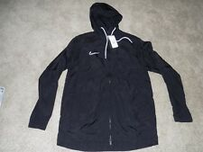Men's Nike Black Hooded Light Weight Jacket Size M New with Tags