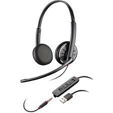 Plantronics Blackwire C325.1 Stereo USB 3.5mm UC Standard PC Headset 204446-102