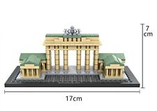 1011 MINI LOZ Diamond Blocks DIY Kids Building Toys Puzzle Brandenburg Gate