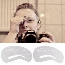 24 Styles Augenbrauen Schablonen Grooming Kit Make-up Shaper Set Tools Neu HOT