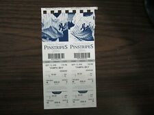 2006 New York Yankees Ticket Stub vs Tampa Bay Rays 9/12/06 2 Full Tickets