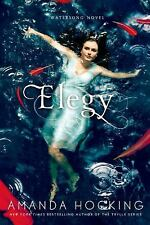 Elegy by Amanda Hocking A Watersong Series Novel 4 Paperback NEW Teen Paranormal