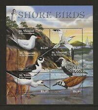 St. Vincent & Grenadines  Shore birds sg.5078-83 sheet of 6 MNH
