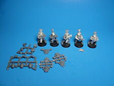GW WH 40K Chaos Space Marine Thousand Sons Rubric Marines x5 Metal Plastic cb