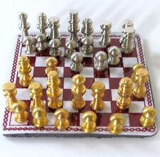 Schachspiel  Puppenstube 1:12 Schach Spiel Puppenhaus