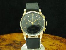 Chronographe Suisse Superio 18kt 750 Gold Handaufzug Chronograph Herrenuhr