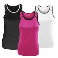 Tombo Ladies Running Gym Vest Sleeveless Sports Tank Top New