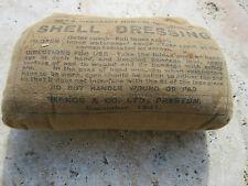 Verbandspäckchen british Army Shell Dressing First Aid Bandage WK2 WWII US Navy
