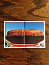SOCCER CITY STADIUM PANINI STICKERS, WORLD CUP SOUTH AFRICA 2010 #SA12-13