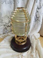 Harbor Lights Fresnel Lens Lamp #631