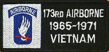 173 RD AIRBORNE 1965-1971 VIETNAM Patch with VELCRO® brand fastener Military