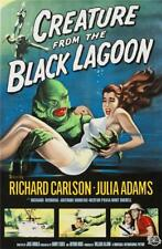Creature From the Black Lagoon Fine art Movie Poster Lithograph S2