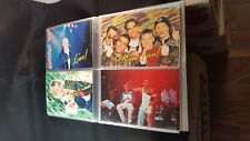 BACKSTREET BOYS - COLLECTION OF 48 CARDS WITH AUTOGRAPH SIGNATURE .