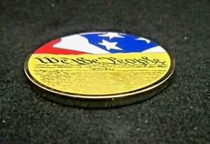 Bastion Special Collectible Challenge Coin - Don't Tread on Me / We the People