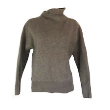 Vince Beige Cashmere High Neck Pullover Sweater Size L