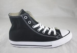 YOUTH ALL STAR CONVERSE CHUCK TAYLOR 3J231 BLACK WHITE  CANVAS CASUAL SHOE