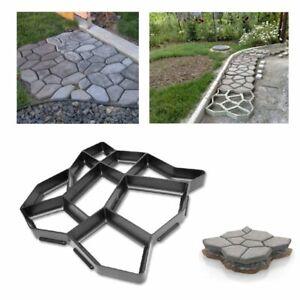 Pflasterform DIY Schalungsform Garten Schablone Betonpflaster Gießform Gehweg