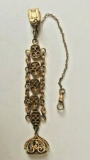 19Th Century Ornate Watch Chain With Fob