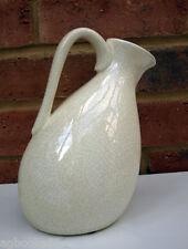 Appoggiati CREMA VASO BROCCA CARAFFA SHABBY CHIC in Ceramica Fiore Fiorista Regalo 19cm NUOVO