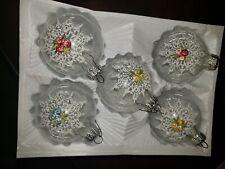 Vintage West Germany Glass Christmas Ornaments Kurt Adler