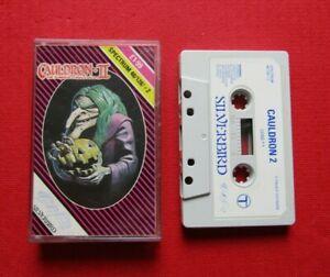 Cauldron II ZX Spectrum 48k/128k/+2 Game cassette in Case Silverbird