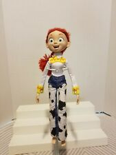"Disney Pixar Toy Story Jessie Doll 12"" Poseable Cowgirl Jointed Doll Figure"