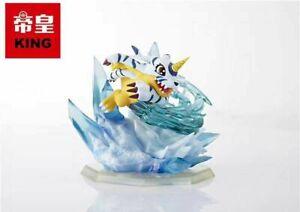 Gabumon Statue Resin Figure Digimon Monster Model GK KING Studio Toys Display N