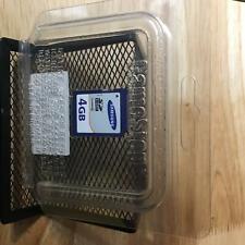 Samsung SDHC 4GB Memory Card Used