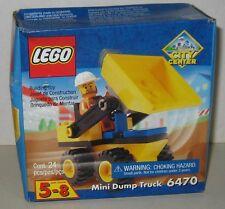 LEGO 6470 City Center Mini Dump Truck brand new in the box