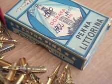 2 ANTICHI Pennini x  Penna LITTORINA num.378 EF- ERA FASCISTA originalii epoca